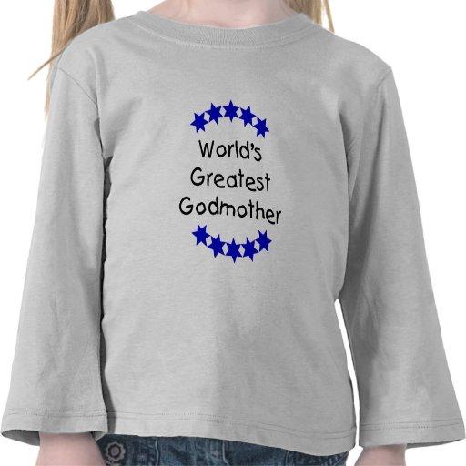 La madrina más grande del mundo (DK. estrellas azu Camisetas