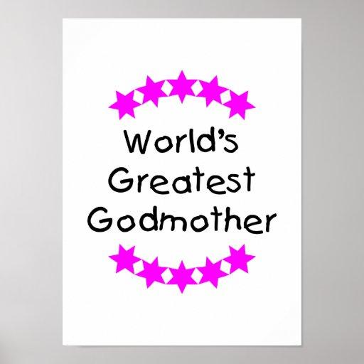 La madrina más grande del mundo (estrellas del ros impresiones