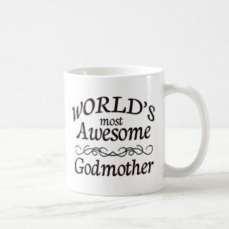 La madrina más impresionante del mundo taza clásica