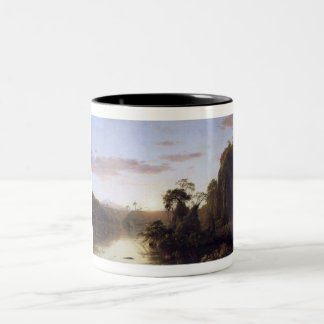 La Magdalena by Frederick Edwin Church Two-Tone Coffee Mug