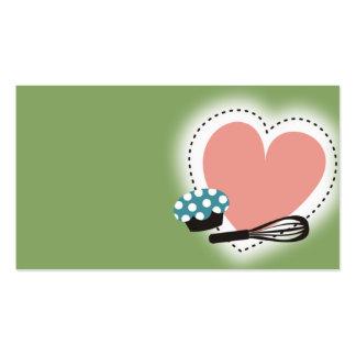 la magdalena de la hornada bate verde de la tarjetas de visita