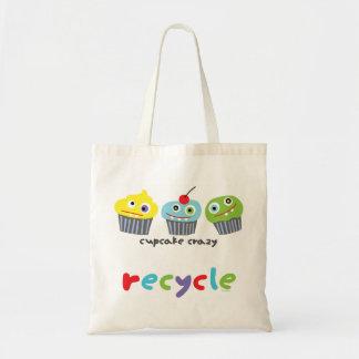 La magdalena loca recicla el bolso bolsa lienzo