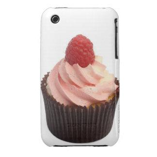 La magdalena remató con crema de la frambuesa y un iPhone 3 carcasa