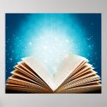 La magia de libros y de la lectura por amor posters