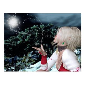 La magia del invierno tarjeta postal