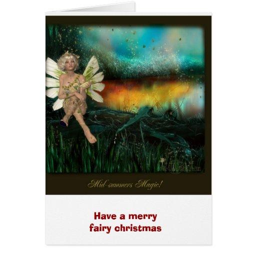 La magia del pleno verano, tiene Felices Navidad d Tarjetas