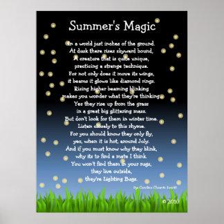 La magia del verano póster