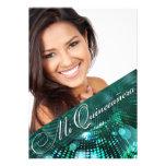 La magia enciende la foto Quinceanera - trullo Invitación Personalizada