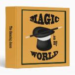 La magia es mi carpeta del mago del mundo