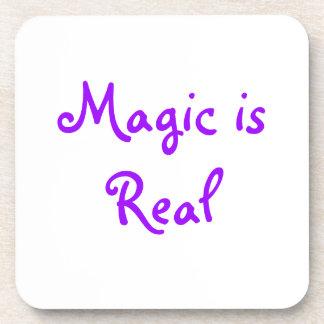 La magia es práctico de costa del Real-corcho Posavaso