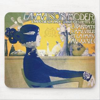 La Maison Moderne, c.1902 Alfombrillas De Raton