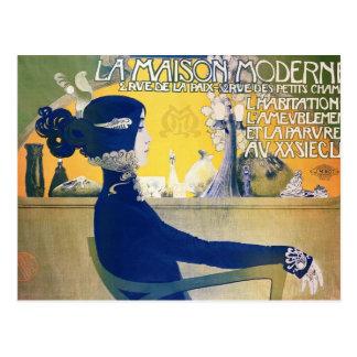 La Maison Moderne, c.1902 Postcard