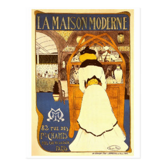La Maison Moderne, Maurice Biais Postcard