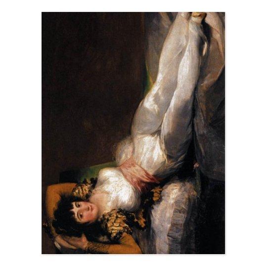 La Maja Vestida Maja (Goya) Francisco de Goya Fran Postcard