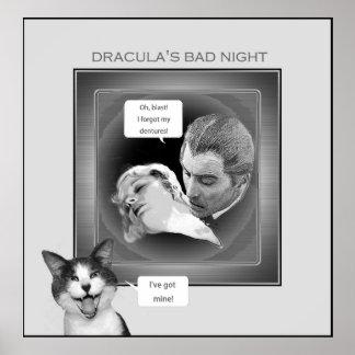 La mala noche de Drácula Póster