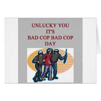 la mala policía del poli del buen poli bromea felicitacion