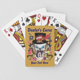 La maldición 1 del distribuidor autorizado el juga baraja de cartas