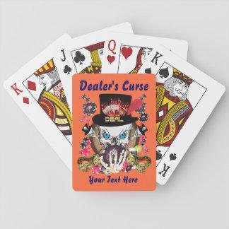 La maldición 1 del distribuidor autorizado el juga cartas de juego