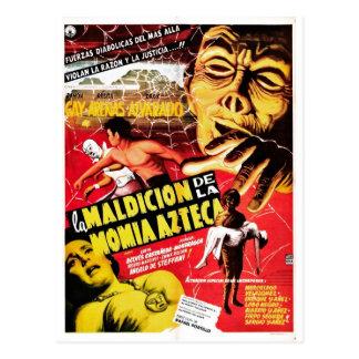 La Maldicion De La Momia Azteca Postal