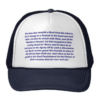La maldición del libro gorras