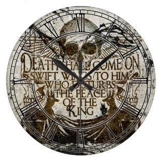 La maldición del Pharaoh Relojes De Pared