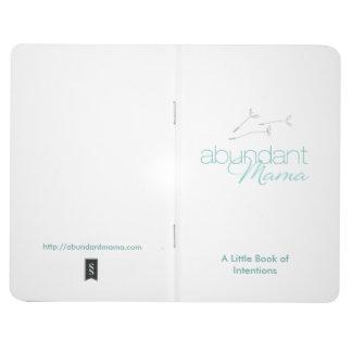 La mamá abundante Little Book de intenciones Cuaderno
