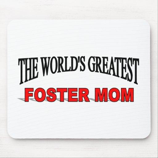 La mamá adoptiva más grande del mundo alfombrillas de raton