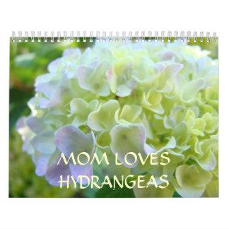 La MAMÁ AMA Año Nuevo de los calendarios de los HY