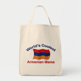 La mamá armenia más fresca bolsa tela para la compra
