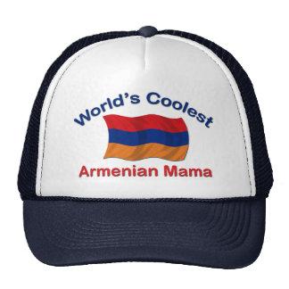 La mamá armenia más fresca gorras de camionero