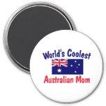 La mamá australiana más fresca del mundo iman de frigorífico