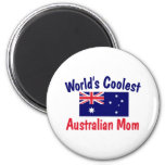 La mamá australiana más fresca del mundo imanes