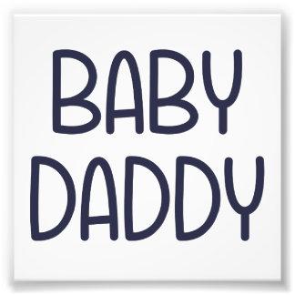 La mamá Baby Daddy (es decir padre) del bebé Impresiones Fotográficas