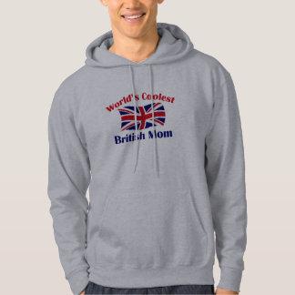La mamá británica más fresca sudadera encapuchada