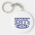 La mamá de EMT orgulloso Llaveros