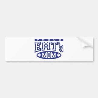 La mamá de EMT orgulloso Pegatina Para Auto