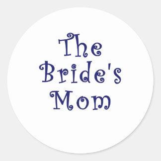 La mamá de las novias pegatina