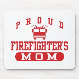 La mamá del bombero alfombrilla de ratones