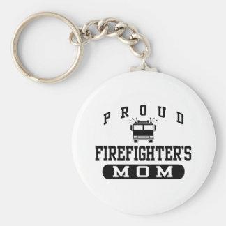 La mamá del bombero llavero personalizado