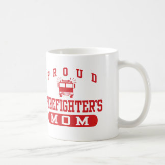La mamá del bombero taza de café