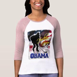 La mamá del hockey para Barack Obama, vota 2008 Playera