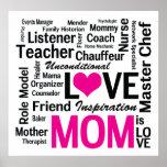 La mamá es amor - trabajos múltiple Hacer-él-Todo  Impresiones