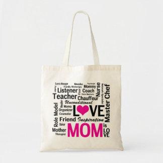 La mamá es bolso de compras del día de madre del a bolsa