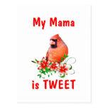 La mamá es dulce postal