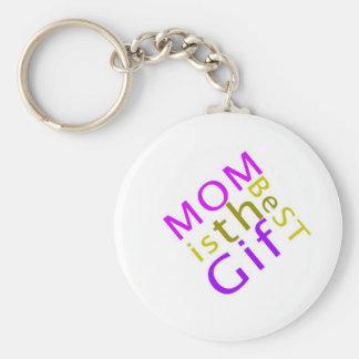 La mamá es el mejor llavero del regalo