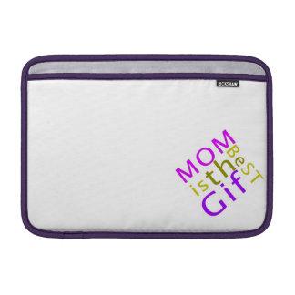 La mamá es la mejor manga del carrito del regalo fundas MacBook