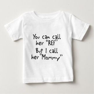 La mamá es la referencia playera de bebé