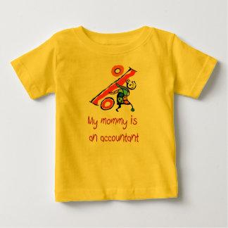 La mamá es una camisa del bebé del contable