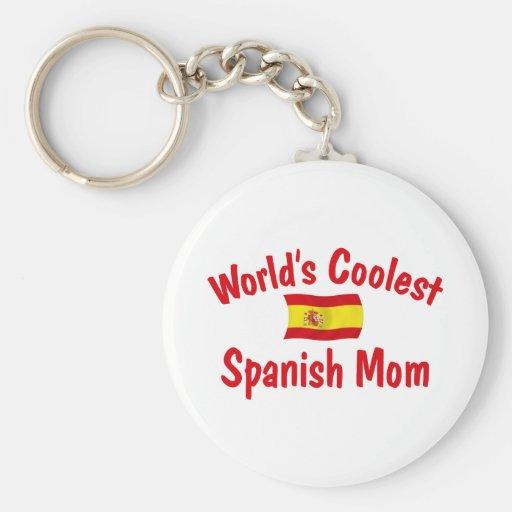 La mamá española más fresca llaveros