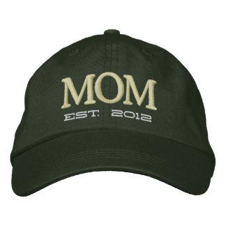 La mamá estableció 2012 (el personalizable) gorra de béisbol
